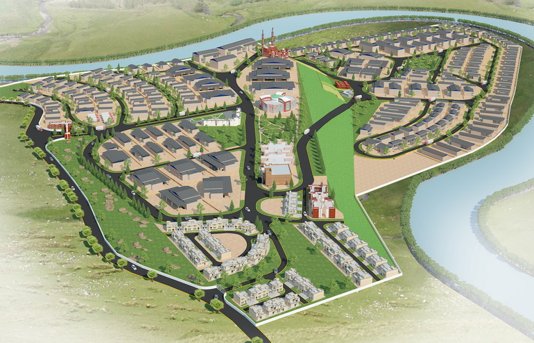 CPEC - Design Development of Industrial Zone Minawar, Gilgit