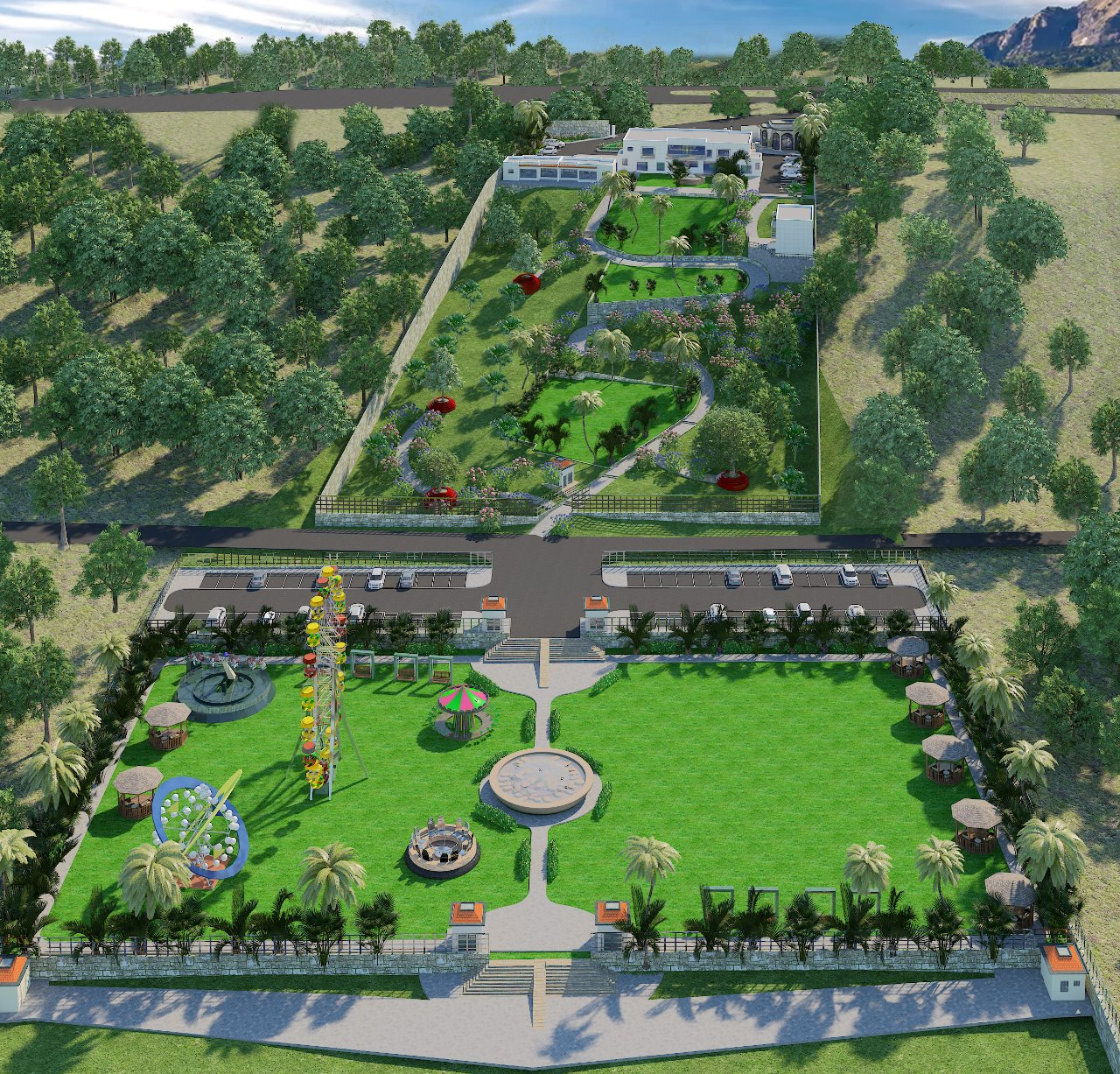 Feasibility & Designing of Recreational Resort Along River Indus