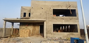 1 Kanal Modern House Under Construction at Phase-7 DHA Lahore
